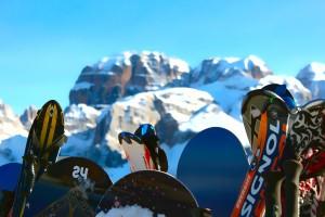 Pinzolo - Partenza pista da sci