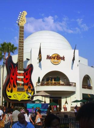 Los Angeles - Hard Rock Cafe Hollywood