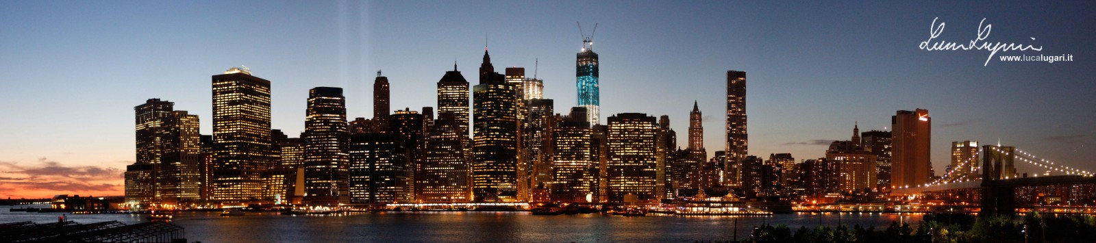 New York - Downtown Manhattan Skyline