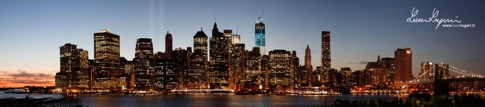 New York - Downtown Manhattan Skyline